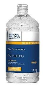 Gel De Contato D'agua Natural Neutro