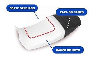Almofada Gel Banco Moto 25x25x1cm Espessura Ortho Pauher