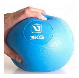 Bola Peso Musculação Yoga 3 Kg Live Up