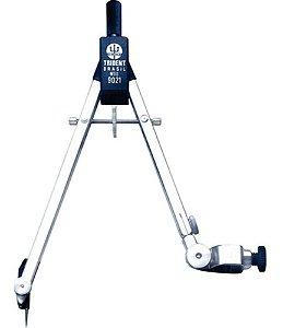 Compasso Profissional Técnico Compacto C/adaptador Trident