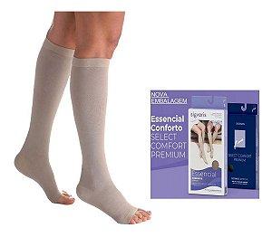 Meia 3/4 Sigvaris 20-30 Select Comfort Premium Natural