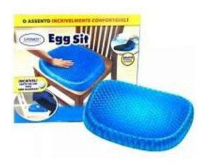 Almofada Assento Egg Sit Silicone + Capa Lavável  Supermedy