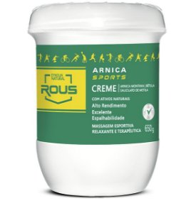 CREME MASSAGEM  ARNICA SPORTS 650G - D AGUA NATURAL