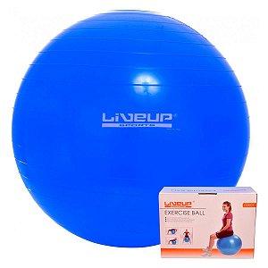 Bola Suíça 75 Cm Premium C/ Bomba LiveUp Yoga Pilates