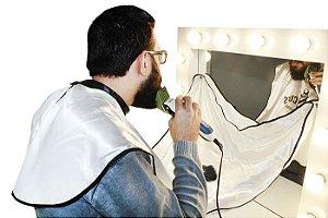 Capa De Cetim C/ Ventosa Para Barbear No Espelho