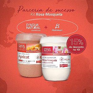 Creme Rosa Mosqueta + Esfoliante Forte Abrasão D'agua Natural