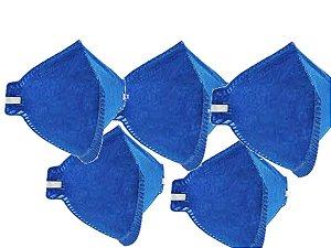 Kit c/10 Mascaras Proteção Sem Valvula Pff2