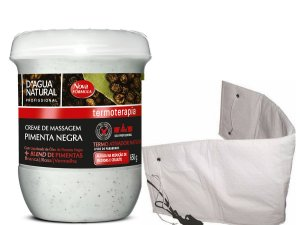 CREME PIMENTA NEGRA 650G + CINTA ELETRICA SANTA CLARA