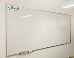 Quadro Branco Liso Reto - Lousa Melamínica Profissional