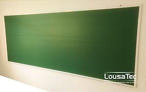 Quadro Verde Liso Reto - Lousa Melamínica Profissional