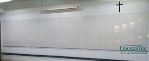 Quadro Branco Liso Cerâmico - Lousa Branca Lisa Cerâmica Baixa Reflexão