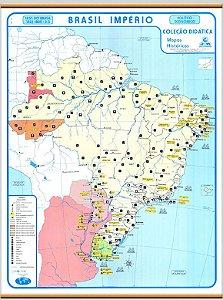 Mapa Brasil Império
