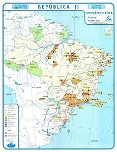 Mapa Brasil Republica II