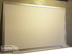 Quadro Branco Brilhante Liso Reto - Lousa Melamínica Profissional