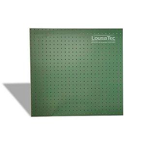 Painel Pegboard Verde - 60x60cm - C/ 06 Ganchos 10cm