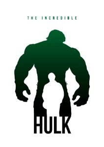 Quadro Decorativo Hulk The Incredible - MV0002