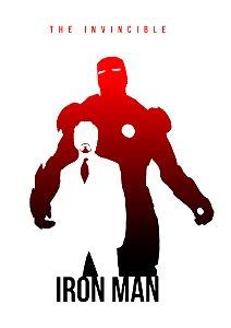 Quadro Decorativo Iron Man The Invincible  - MV0004