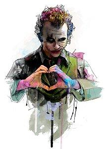 Quadro Decorativo Joker Cavaleiro das Trevas - DC0005