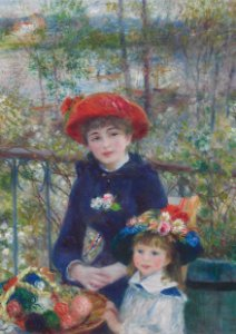 Quadro Decorativo Renoir Two Sisters (On the Terrace) - PT0006