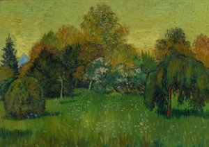 Quadro Decorativo Van Gogh The Poet's Garden - PT0007