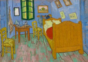 Quadro Decorativo Van Gogh The Bedroom - PT0008