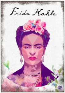 Quadro Decorativo Frida Kahlo Cahlo - PT0013