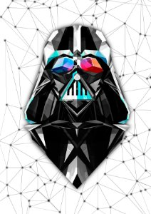 Quadro Decorativo Darth Vader - FS0003