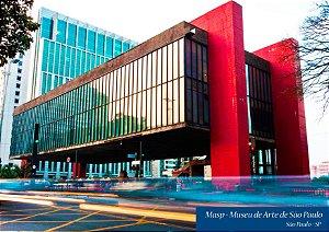 Quadro Decorativo Museu de Arte de São Paulo - FT0003