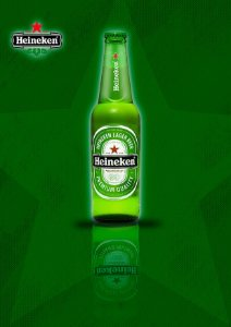 Quadro Decorativo Heineken Beer - GM0002