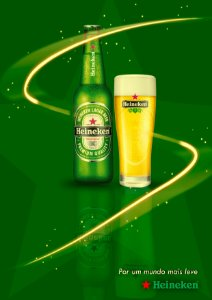 Quadro Decorativo Heineken Mais Leve - GM0003