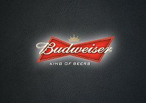 Quadro Decorativo Budweiser - GM0004