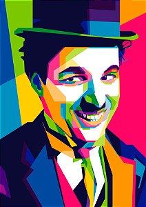 Quadro Decorativo Chaplin - FS0005