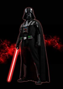 Quadro Decorativo Vader - FS0008
