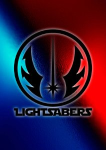 Quadro Decorativo Lightsaber - FS0009