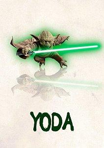 Quadro Decorativo Yoda - FS0012