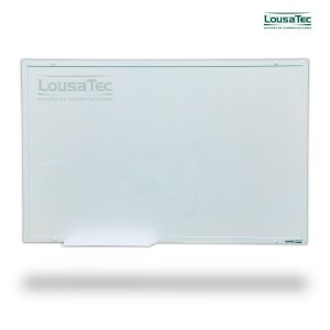 Quadro Branco Liso Reto - Lousa Profissional - Moldura Alumínio Epoxi Branco