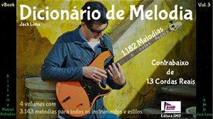 Dicionário de Melodia Vol. 3