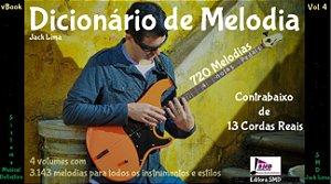 Dicionário de Melodia Vol. 4