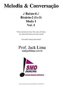 Melodia & Conversação | Baixo-4 vol. 1