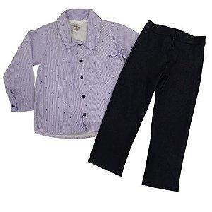 Conjunto Camisa e Calça Social