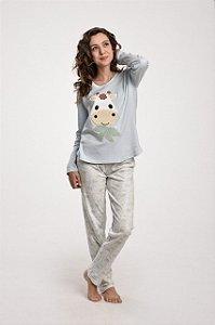 Pijama longo Algodão Girafa Mãe e Filhos Feminino