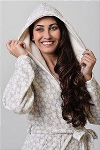 Chambre roupão feminino de inverno soft Estrelinhas