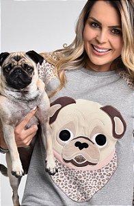 Pug Pijama Cachorro Fofo de Plush Coleção @stenatus