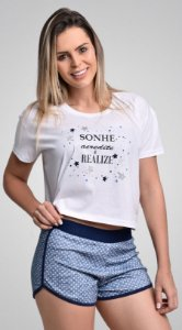 Baby Doll Short e Camiseta @stenatus