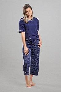 Pijama Pantacourt Liganete Homewear