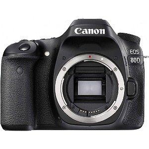 Câmera Canon DSLR 80D Corpo