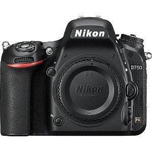 Câmera Nikon Dslr D750 - Corpo