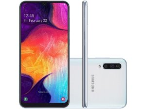 Smartphone Samsung Galaxy A50 A505 Desbloqueado Android e Wi-Fi