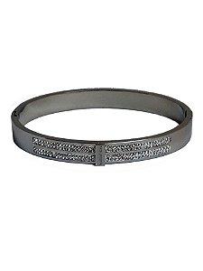 e1fd36d8520 Bracelete Michael Kors Aço Zircônia