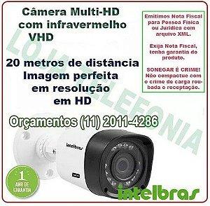 Câmera de Segurança Intelbras Multi-hd 20 metros